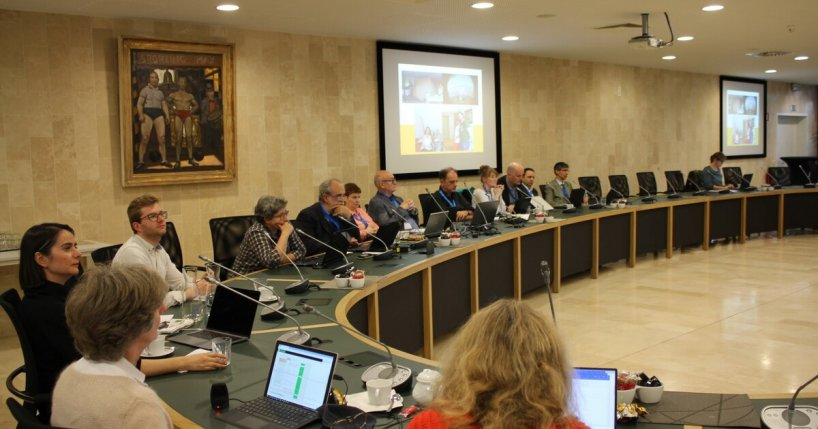 Photo from the kick off meeting of the t-crepe project